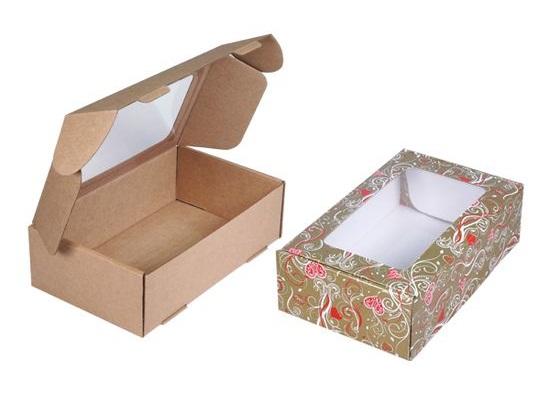 Купить картонные новогодние коробки для упаковки