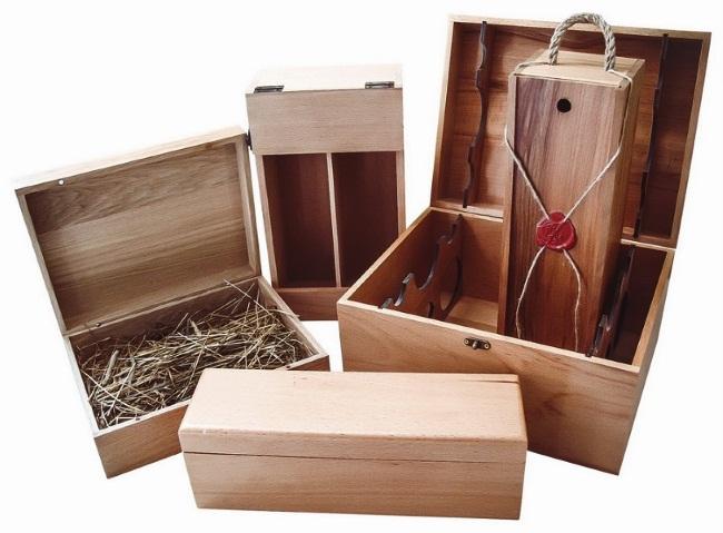 Купить подарочные деревянные коробки